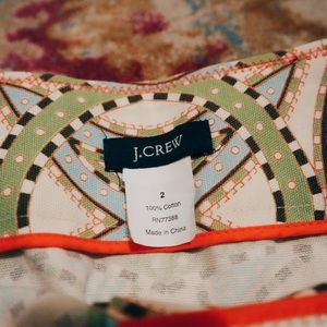 J.Crew Patterned Skirt